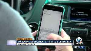 Upcoming changes to distracted driving law could make it easier for law enforcement to write tickets [Video]