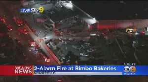 1 Firefighter Injured In 2-Alarm Fire At Bimbo Bakeries [Video]