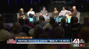 Johnson County teen, adults share stories of drug addiction [Video]