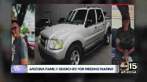 Arizona family searches for missing Marine [Video]