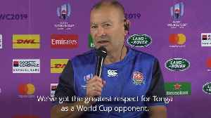 News video: England expecting 'ferocious battle' against Tonga in World Cup opener