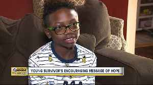 'You have to show yourself that you are better.' How 11-year-old Ameir overcame blood cancer [Video]