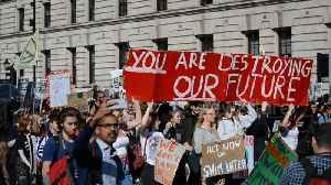 News video: Thousands join global climate strike in London