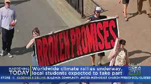 Local Students To Take Part In Worldwide Climate Change March [Video]