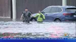 Rain From Tropical Storm Imelda Flooded Houston Area [Video]