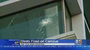 Investigation Underway After Gunfire Damages SJSU Library [Video]