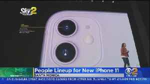 Apple Fans Camped Out To Be First To Get New iPhone [Video]