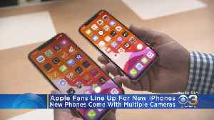 Apple Fans Line Up For New IPhones In Center City [Video]