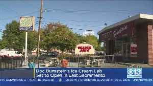 Central Coast's Doc Burnstein's Ice Cream Lab To Fill In Old Burr's Fountain Spot In East Sacramento [Video]