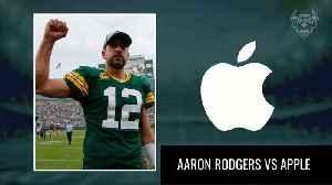 Stock Versus Stat: Green Bay Packer Quarterback Aaron Rodgers Versus Apple [Video]