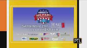 Upcoming Military Support Event [Video]