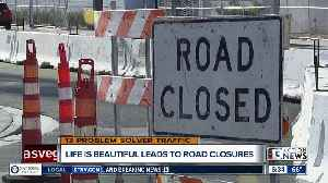 Downtown residents frustrated with Life is Beautiful road closures [Video]