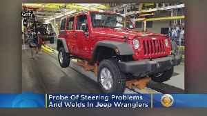 Safety Regulators Open Probe Of Steering Problems, Welds In Jeep Wranglers [Video]