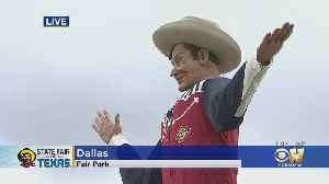 Big Tex Returns With New Look For State Fair Of Texas [Video]