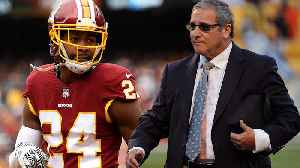 "News video: Josh Norman BLASTS Dave Gettleman ""I Want To Smash His Face In The Grass"""