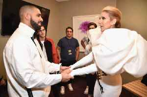 Celine Dion Urges Drake Not to Get a Tattoo of Her Face [Video]