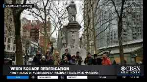 'The Friends Of Verdi Square' Help Breathe New Life Into Park [Video]