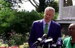 News video: 'I wish I had more time': De Blasio ends 2020 bid