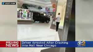 News video: SUV Drives Through Chicago Mall