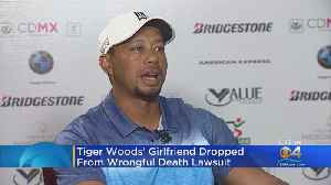 Tiger Woods' Girlfriend Dropped From Wrongful Death Lawsuit [Video]