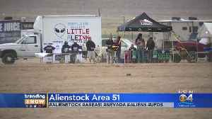 Alienstock: A 4-Day Music Festival Outside Area 51 [Video]