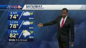 Rain moves in for your weekend [Video]