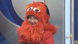 Meet Caitlin Ryan, The 8-Year-Old Mini-Gritty Who Had A Dance-off With Gritty At Flyers-Bruins Preseason Game [Video]