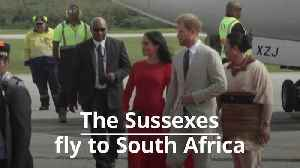 The Duke and Duchess of Sussex prepare for family tour of South Africa [Video]