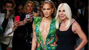 Jennifer Lopez: Versace Milan Show In That Dress [Video]