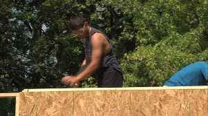 'It's taught me a lot…' VCSC students build skills one home at time [Video]
