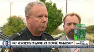 Hear first responders recount, reflect one year after the workplace shooting in Middleton [Video]