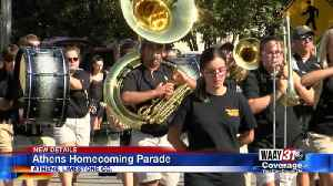 Athens Homecoming Parade [Video]