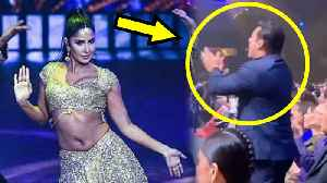 IIFA 2019 | Salman Khan CHEERS For Katrina Kaif, Gets Up From His Seat [Video]