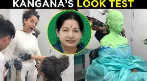 Kangana Ranaut As Jayalalithaa, Thalaivi Look Test | NEVER SEEN Before Makeover| Jayalalithaa Biopic [Video]