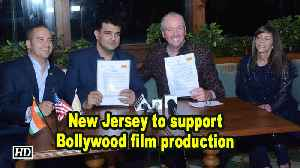 New Jersey to support Bollywood film production [Video]