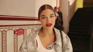 From Morning Meditation to the Moschino Runway: Watch Grace Elizabeth's Pre-Show Routine [Video]