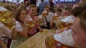 'O zapft is!': Munich's world-famous Oktoberfest beer festival opens [Video]