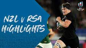 HIGHLIGHTS : New Zealand v South Africa - Rugby World Cup 2019 [Video]