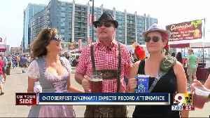 Early start, great weather help pack Oktoberfest Zinzinnati [Video]