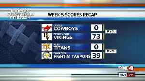 Week 5 Final Scores and Highlights High School Football Southwest Florida [Video]