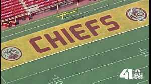 Throwback design to adorn field for Kansas City Chiefs' home opener [Video]