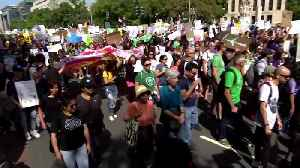 """""""Today, Mother Earth wins"""": Climate activists in D.C. [Video]"""