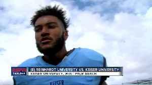 Keiser stuns No. 8 Reinhardt with late go-ahead touchdown [Video]