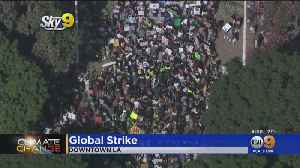 Hundreds Gather In Downtown LA For Global 'Climate Strike' [Video]