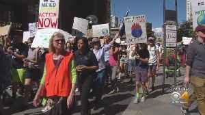 Thousands Of Students March For Action On Climate Change [Video]
