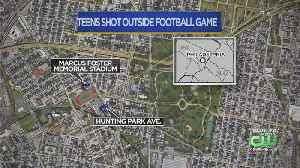 2 Teenagers Injured In Double Shooting At High School Football Game [Video]