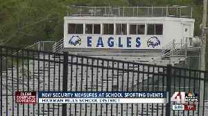 Fans encounter new security at Ruskin High School sporting events [Video]