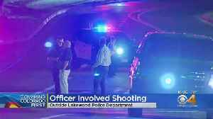 Lakewood Police Shoot Man With A Gun Outside Police Station [Video]