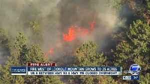 Bald Mountain Fire shuts down part of U.S. 6 in Jefferson County [Video]