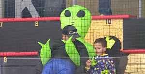 Vegas Golden Knights fans catch alien fever [Video]